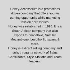 honey fashion accessories in south