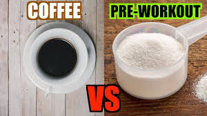 coffee vs pre workout nutrition