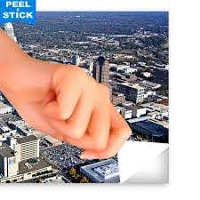 Aerial Downtown Charlotte Wall Decals Peel Stick Re Movable Wall Art Zapwalls
