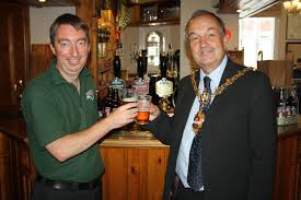 Double birthday celebrations for Dudley Mayor and Woodsetton brewery |  Kidderminster Shuttle