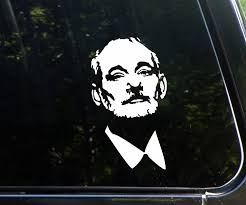 Amazon Com Kickassdecals Bill Fcking Murray Funny Chive Die Cut Decal Sticker Not Printed For Window Car Truck Laptop Etc Kcco Automotive