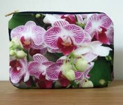 bag purse cosmetics gifts navy zipper