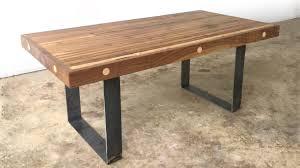 diy bowling alley coffee table modern