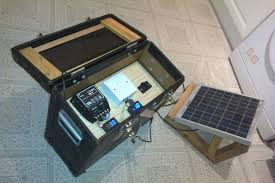 how to make a diy solar generator