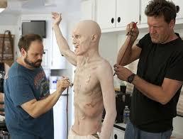 walking dead zombie makeup process