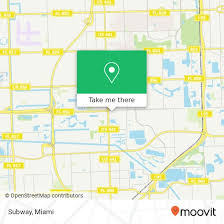 how to get to subway 21453 nw 2nd ave
