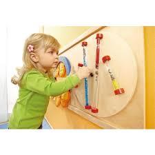 Haba Sensory Wall Glitter Rods Wall Panel Toys Waiting Room Toys