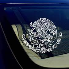 Amazon Com Owntheavenue Mexican Coat Of Arms Sticker Decal Mexico Flag Car Truck Auto Laptop 7 5 Automotive