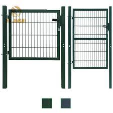 China Galvanized Steel Welded Wire Mesh Public Places Garden Gates China Garden Gate Fence Gate