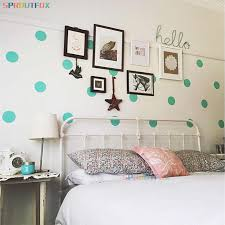 Baby Boy Polka Dot Wall Decals Kids Room Decor Mid Dot Vinyl Wall Sticker Nursery Mural Wall Art Decal Decoration Wall Stickers Aliexpress