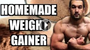 homemade weight gainer shake recipes