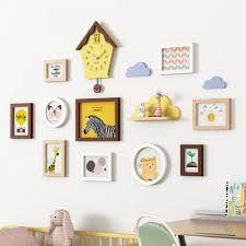 Children S Room Photo Wall Decoration Photo Frame Background Wall Combination