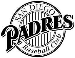 San Diego Padres Logo Mlb Sticker Vinyl Decal Wall Art 260 Etsy