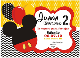Invitaciones De Cumpleanos Mickey Mouse Wallpaper En Hd Grat