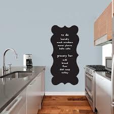 Shop Fancy Chalkboard Wall Decal Overstock 22691896