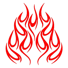 Flames Vinyl Car Sticker Motorcycle Cool Graphics Vinyl Decor Decals Fashion Personality Creativity Car Sticker Car Stickers Aliexpress