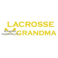 Lacrosse Grandma Window Decal Magnetic Impressions Llc