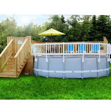 Garden Decors Depot Ecoopts 24 X 60 Vinyl Ground Pool Fence Panel Screen Level Top Guard Above Swimming Pool Safety Fencing Products White 2 Pieces Section C