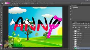 Crear Letras Estilo Mickey Mouse Youtube