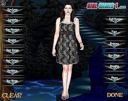 free twilight dress up games