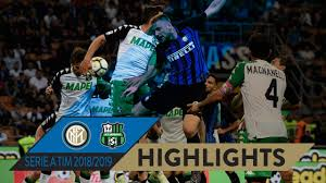INTER 0-0 SASSUOLO   HIGHLIGHTS   Matchday 20 Serie A TIM 2018/19 ...