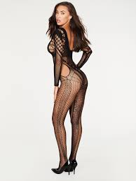 Iva Mesh Bodystocking - Frederick's of Hollywood :: Home