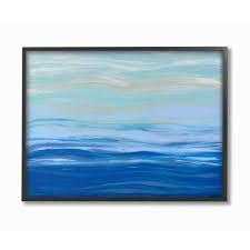 acrylic resin morning ocean