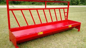 Pmc Manufactures Fence Line Feeders For Cows Calves And Heavy Duty Deep Fence Line Feeders For Bulls Pmc The Pequea Machine Corp Boscobel Wi