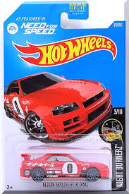 Red W Black Interior Smoke Windows A 0 With Various Racing Decals On Sides Small White Hot Wheels Logo Front S Nissan Skyline Hot Wheels Hot Wheels Cars