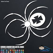 Iron Cross Spider Vinyl Car Decal Graphic Window Stickers