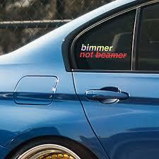Bmw 2 Series F22 F45 F46 M2 Window Windshield Sticker Stance Drift Decal Emblem 7 99 Picclick