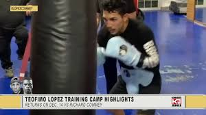 Teofimo Lopez Training Highlights For ...