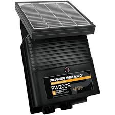 Power Wizard Pw200s 12v Solar Electric Fence Charger 0 2 Joule Output Amazon Com Industrial Scientific