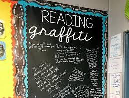 graffiti walls in the classroom brilliant ideas weareteachers