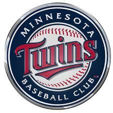 Minnesota Twins Color Emblem 3 Car Team Decal