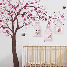 Amazon Com Simple Shapes Cherry Blossom Tree Wall Decal Ceiling Style Scheme A Furniture Decor