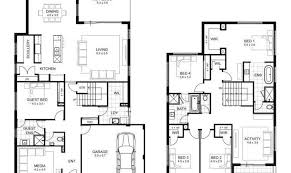 bedroom house designs perth double