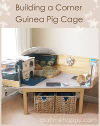 diy c and c style guinea pig cage