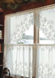 Heritage Lace Woodland Lace Tier Curtain Paul S Home Fashions