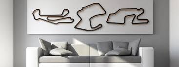 Race Track Art Track Sculptures