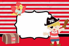 Tarjetas De Piratas Para Imprimir Gratis Imagui