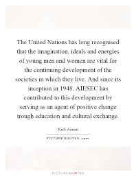 the united nations has long recognised that the imagination