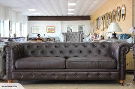tnc chesterfield 3 seater sofa walnut