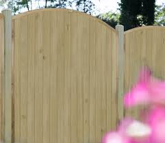 Forest Vertical Domed Top 6 X 5 Ft Fence Panel Gardensite Co Uk