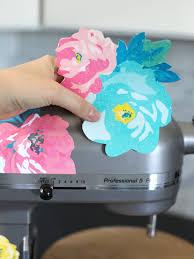 Diy Floral Vinyl Mixer Decals The Craft Patch