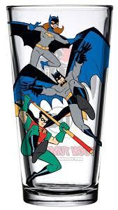 Toon Tumblers Batman The Animated Series Batfamily 16 Oz Pint Glass