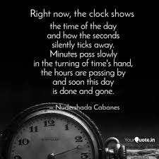 the time of the day and quotes writings by nudershada
