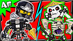 COLE vs SKELETON - Lego Ninjago MECH BATTLE #4 CGI film - YouTube