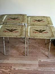 4 vintage american eagle fiberglass tv