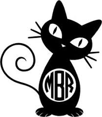 20 Cat Decals Ideas Cat Decal Cat Silhouette Cats